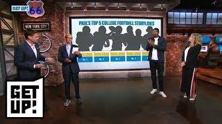 Paul Finebaum's top storylines of the 2018 college football season | Get Up! | ESPN