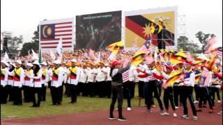 Sri Aman Malaysia  city images : Malaysia's 59th independence day celebration 2016 Sehati Sejiwa at Sri Aman (state level)