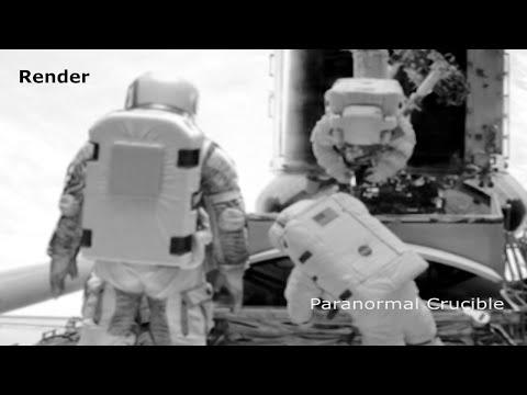 9 Foot Alien Spotted In Space Shuttle Cargo Bay