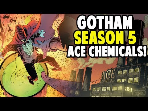 Gotham Season 5 Ace Chemicals & Why I'm Back!