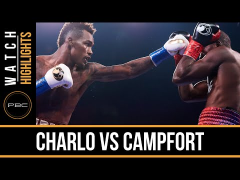 jermall charlo vs wilky campfort - highlights