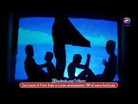 O encerramento de mais um ciclo do Projeto Rondon em Acarape Teatro de Sombra