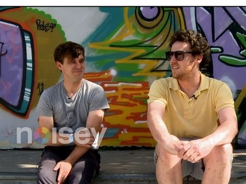 Metronomy talk skateboarding with Noisey