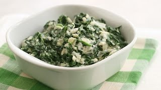 Easy Creamed Spinach - Everyday Food with Sarah Carey by Everyday Food