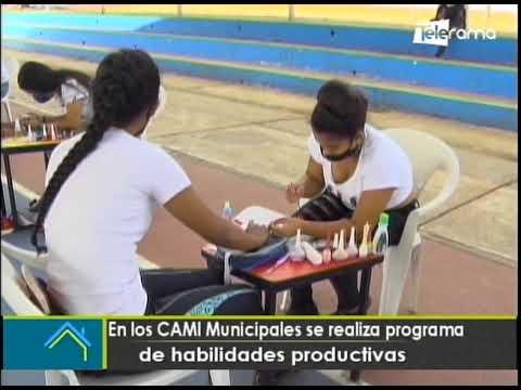 En los CAMI municipales se realiza programa de habilidades productivas