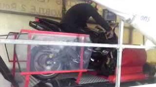 4. 2007 Triumph 675 Daytona + Akrapovic Dynojet run