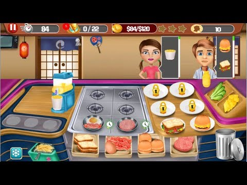 Food Craze Chef Cooking Games Level 1 To 10 Gameplay - Android GamePlay FHD