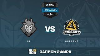 G2 vs GODSENT - ESL Pro League S6 EU - de_cache [Enkanis, yXo]