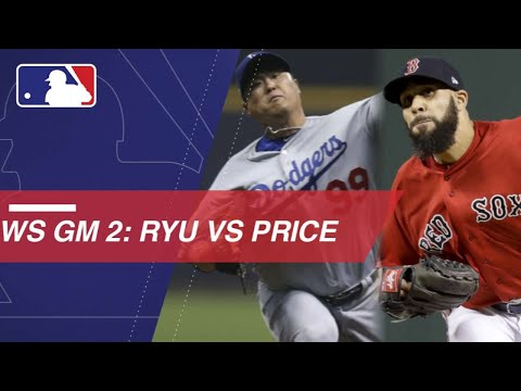 Video: Hyun-Jin Ryu and David Price are set to duel in Game 2