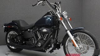 9. 2007  HARLEY DAVIDSON  FXSTB SOFTAIL NIGHT TRAIN  - National Powersports Distributors