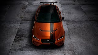 Introducing the most powerful, agile and extreme performance Jaguar road car ever – the 200mph, 600PS XE SV Project 8 from Special Vehicle Operations. Project 8 is a hand-built four-door XE with supercar performance. To ensure exclusivity, no more than 300 examples will be created, each assembled at SVO's Technical Center in Coventry.Learn more about the Jaguar XE Project 8: http://bit.ly/2thUGi3Connect with Jaguar USA:Website: http://www.jaguarusa.comFacebook: https://www.facebook.com/JaguarUSATwitter: https://twitter.com/JaguarUSAInstagram: http://instagram.com/JaguarUSA