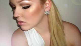 Halloween Tutorial: Greek Goddess Inspired Makeup