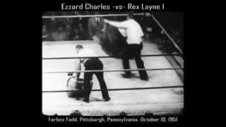 Ezzard Charles -vs- Rex Layne I 1951