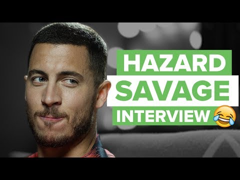 Eden Hazard SAVAGE Interview And Try Not To Laugh Challenge