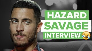 Video Eden Hazard SAVAGE interview and Try Not To Laugh challenge MP3, 3GP, MP4, WEBM, AVI, FLV Agustus 2018