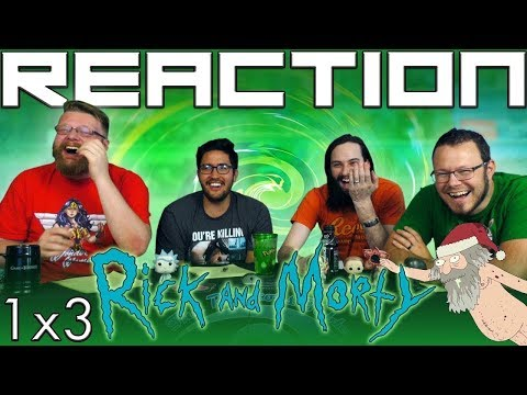 "Rick and Morty 1x3 REACTION!! ""Anatomy Park"""