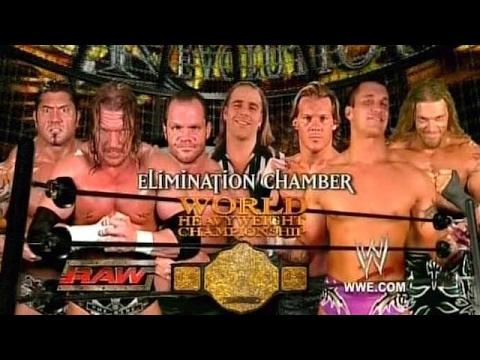 WWE Greatest Elimination Chamber Match