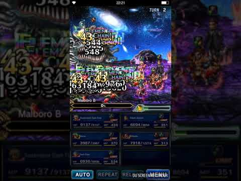 Ffbe Adam Jensen Chain With Dark Fina Vs Malboro One Shot