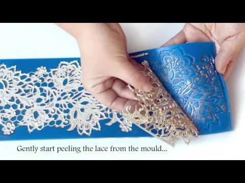 Forma silicon dantela Oriel - Crystal Lace