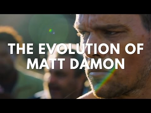 The Evolution of Matt Damon in Film  Television