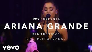 Ariana Grande - Into You (Vevo Presents)Music never stops. Get the Vevo App! http://smarturl.it/vevoappsDangerous Woman album available now: http://republicrec.co/AriDangerousWomanhttp://facebook.com/vevohttp://twitter.com/vevohttp://instagram.com/vevohttp://vevo.tumblr.comhttp://vevo.ly/LLe9IJ