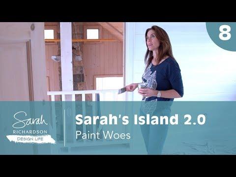 Design Life: Sarah's Island 2.0: Paint Woes Meets Paint Ideas (Ep. 8)