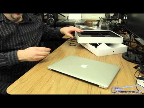 15-inch MacBook Pro with Retina Display Unboxing & First Look! (2012)