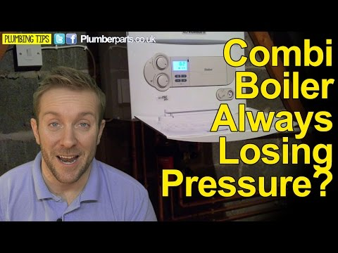 BOILER KEEPS LOSING PRESSURE - WHY AND HOW TO FIX - Plumbing tips видео