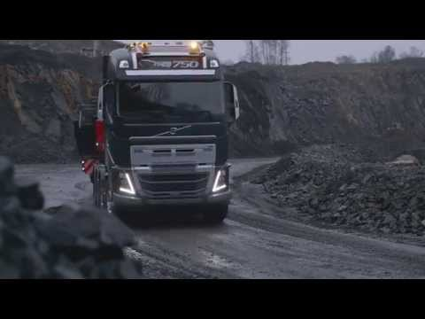 Volvo Trucks - FH750 with a new heavy duty bumper
