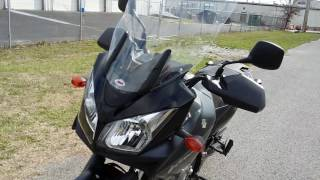 6. 2008 Suzuki V-Strom 650 walk around and overview