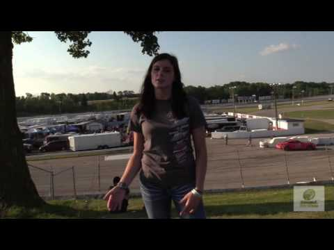 Interview with Super Late Model driver Reagan May of De Pere, Wisconsin.
