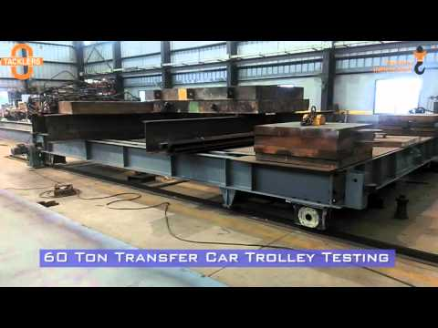 60 Ton Heavy Duty Industrial Transfer Car Trolley