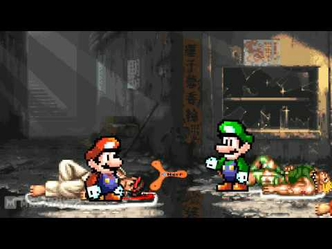 Mario Lead Detective - Street Fighters часть 2 (rus)
