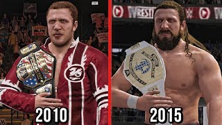 All of Daniel Bryan title wins in WWE from his first title win to his last title wins before retired recreated in WWE 2K17.Subscribe to Bestintheworld https://goo.gl/bh0dMlFollow me on Twitter https://goo.gl/g2hpKr