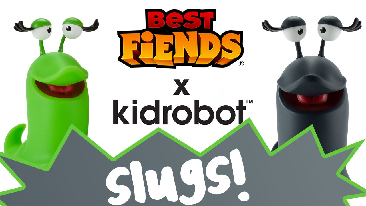 SLUGS – Best Fiends x Kidrobot Vinyl