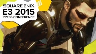 Deus Ex: Mankind Divided In-Game Trailer - E3 2015 Square Enix Press Conference -