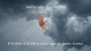 Guntur India  City new picture : Alien is fallen from the sky in Guntur, India
