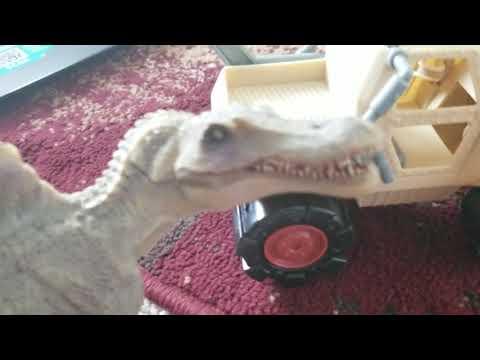 Godzilla and rexy season 7 episode 32 spino claw