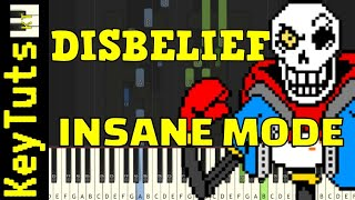 Video Learn to Play the Disbelief OST (Undertale AU) - Insane Mode MP3, 3GP, MP4, WEBM, AVI, FLV Mei 2018