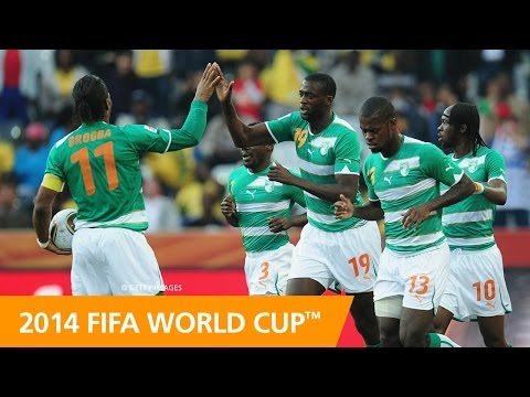 Cote - Featuring interviews with Didier Drogba, Salomon Kalou and coach Sabri Lamouchi, this preview looks at Côte d'Ivoire's FIFA World Cup history, their qualific...
