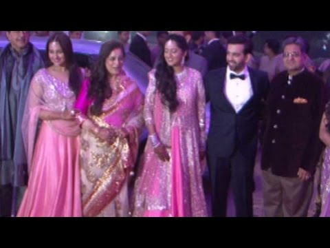 Starry Night At Marriage Reception Of Sonakshi's B