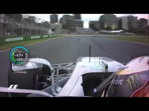 gp australia 2017 - lewis hamilton conquista la pole position, vettel 2°