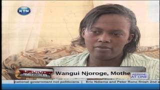 Twelve Year Old Chege Njoroge Healing Process After Father Died In Somalia