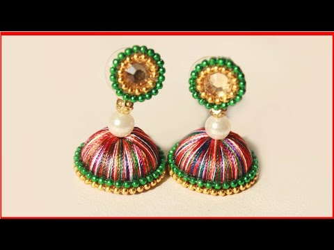 How to Make Partywear Women Fashion Earrings Easy Model | zooltv