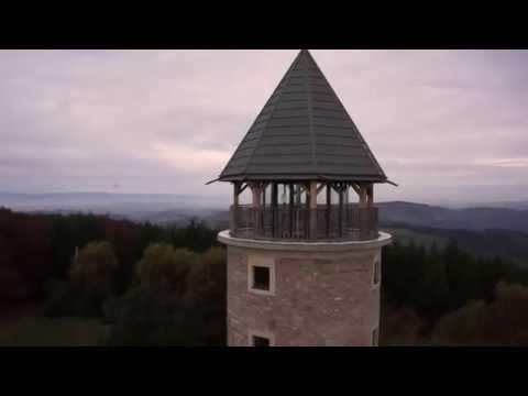 Tour Matagrin à Violay par un drone