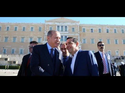 Historischer Staatsbesuch in Griechenland: Alexis Tsipr ...