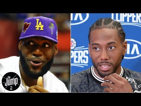 Video: Lakers vs. Clippers headlines NBA 2019-20 opening night schedule | The Jump