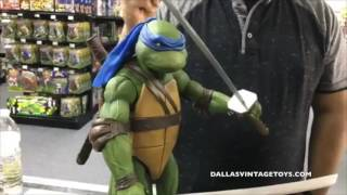 DVT Talks 06/21/17 - Dallas Vintage Toys NECA 1/4 Scale TMNT LeonardoDallas Vintage Toys is a vintage toy store in Dallas Texas specializing in toys from the 70's, 80's ad 90's! The biggest genre of toys in the store is STAR WARS of which every generation from 1977-2015 is available and in stock! You have to stop by and see it for yourself at 12052 Forestgate Dr, Dallas TX 75243, Phone 214-827-7060, or visit them online at www.dallasvintagetoys.com - WE BUY TOYS!