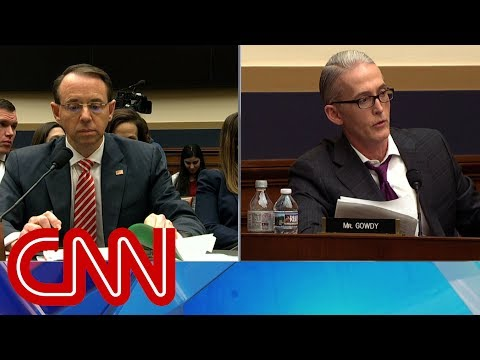 Gowdy presses Deputy AG on possible bias against Trump