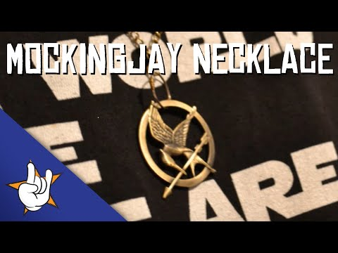 How to make a Hunger Games Mockingjay necklace